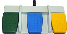 Lexacom Waterproof Footpedals for Handsfree Dictation